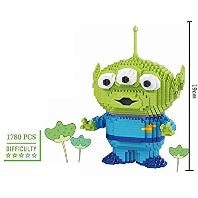 Mopoq Building Blocks for Children, 3D Model Brick Particles, Mini-Nano Building Blocks, DIY Educational Toys, Creative Building Blocks: Home & Kitchen