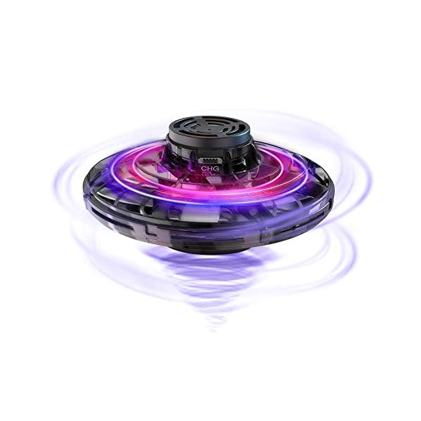 FlyNova Mini Drone, Hand Drone Flying Toys Drones for Kids, USB Charging RGB Lights Interactive Toys Gifts for Boys Girls Adults