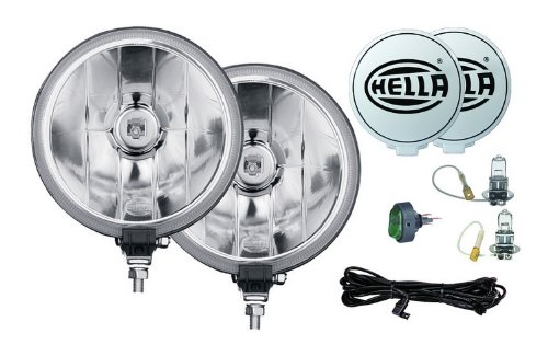 HELLA 005750941 500FF Series 12-Volt/55-Watt Halogen Driving Lamp Kit (Fun Cubed)