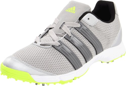 adidas Men's Climacool Sport Golf Shoe,Metallic Silver/Dark Silver Metallic/Slime,9 M US ()