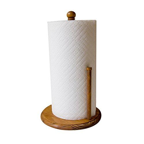 Home Basics Pine Paper Towel - Paper Towel Holder Pine