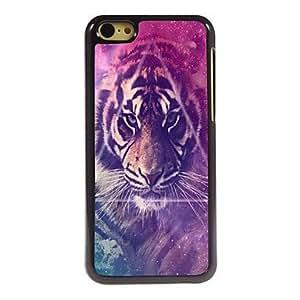 YULIN Funda Trasera - Gráficas/Dibujos/Metálico/Diseño Especial/Otro/Innovador - para iPhone 5C ( Multicolor , Metal/ABS/Plástico )