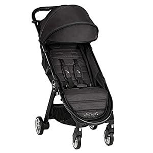 Baby Jogger City Tour 2 Travel Pushchair | Lightweight, Foldable and Portable Buggy | Jet (Black)