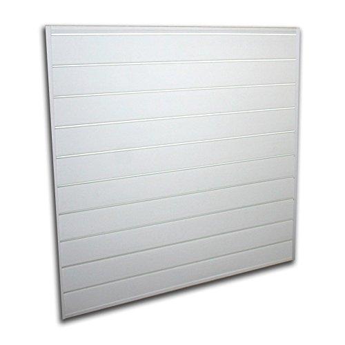 Proslat White 16 square foot Heavy Duty Slatwall Organizer Panel by Proslat (Image #2)