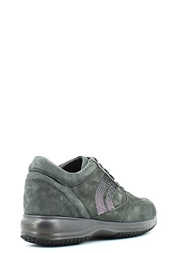 D 00021 GEOX donna sneakers basse D5462A Grigio A HAPPY C1006 TTtq01w