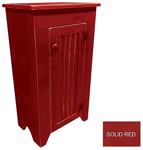Sawdust City Jelly Cupboard (Solid - Red) Pine Solid Pine Cupboard