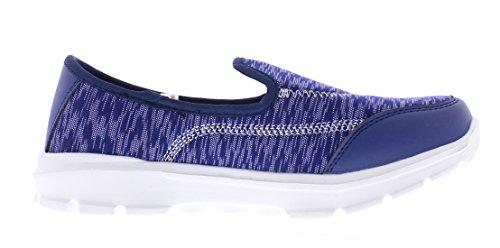 Gold Toe Para Mujer Casual Slip-on Comfort Zapato Para Caminar Flats Espuma Deportiva Deportivo Deportivo Zapatillas De Deporte