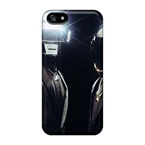 Great Cell-phone Hard Covers For Iphone 5/5s (GTZ20078nWxY) Unique Design Attractive Daft Punk Band Pattern
