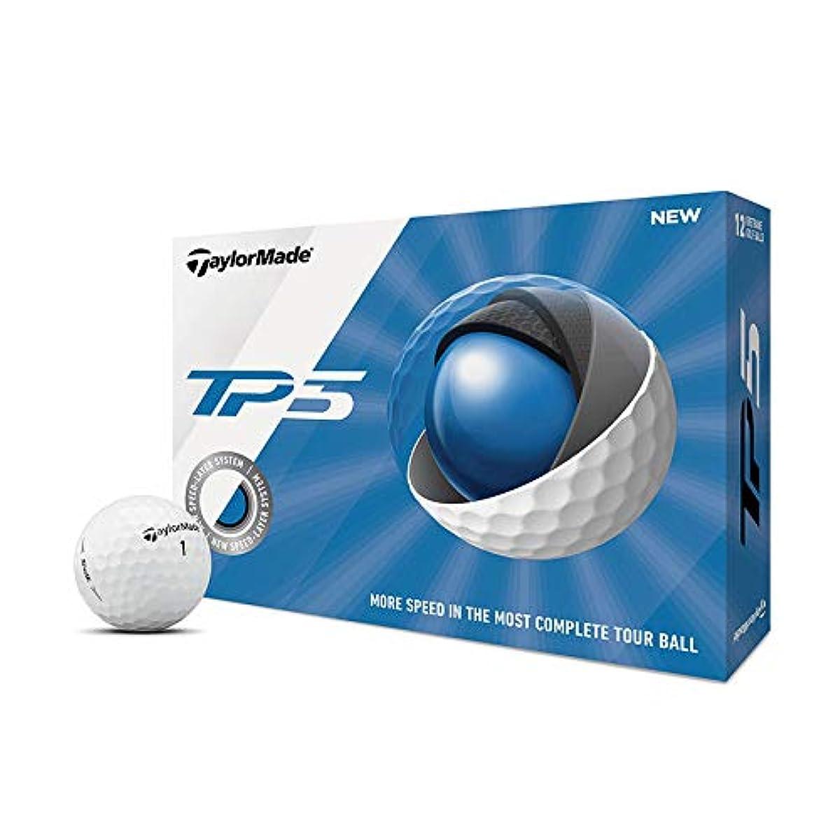 [해외] TAYLORMADE TP5 골프 볼 화이트 1다스