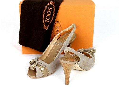 Tod's - Sandalias de vestir para mujer beige - beige