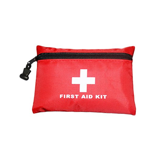 Baoke D31 Nylon Bag Mini Pocket Type First Aid Kit Sterile Waterproof Pouch for Injury Emergency Home ()