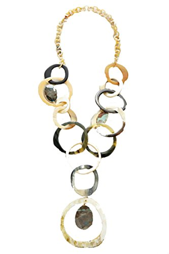horn-rona-link-necklace-gold-color-os