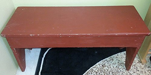 - Vintage Solid Wood 3 Foot Childrens Bench