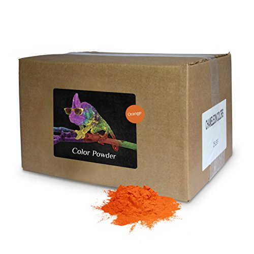 Color Powder Orange 25lb Box by Chameleon Colors