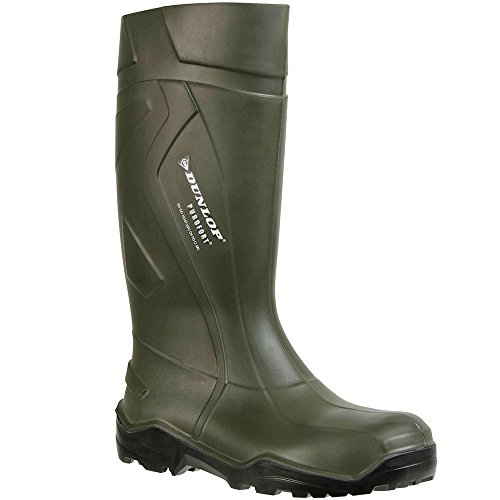 43 Green 44 On Size Self Mens 41 Green Lined Dunlop 42 Pull Boots 39 40 7ROCq6x