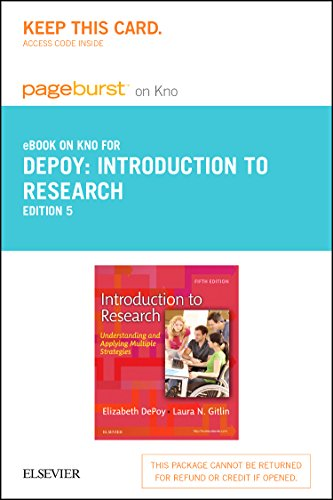 Introduction to Research - Elsevier eBook on Intel Education Study (Retail Access Card): Understanding and Applying Multiple Strategies, 5e
