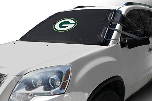FrostGuard NFL Premium Winter Windshield Cover for Snow, Frost and Ice - Cold Weather Protection for...