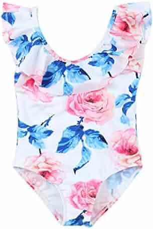 0ea5a3dd6c Happy Cherry Baby Girls One Piece Swimwear Gymnastics Leotard Beach Swimsuit