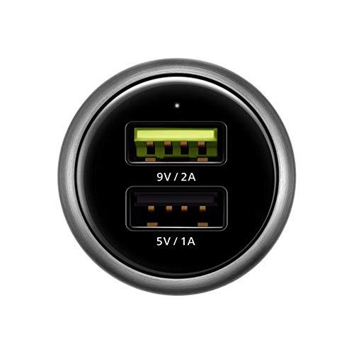 Huawei AP31 - Cargador (Auto, Encendedor de Cigarrillos, Negro, Gris)