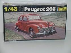 """""""Peugeot 203""""---Plastic Car Model Kit from Heller"""