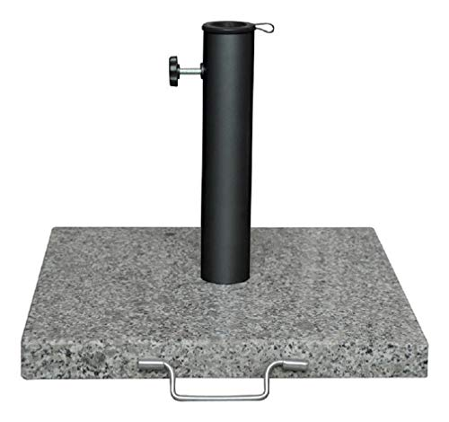 42LB GRANTE UMBRELA BASE - Granite Umbrella Base