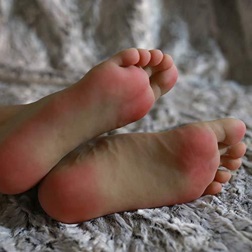 FidgetFidget A Pair Realistic Silicone Male Feet Shoes Displays Model Mannequin Size 43 h012 by FidgetFidget (Image #3)