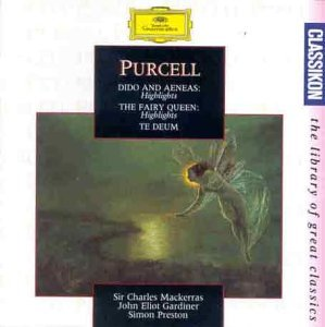 - Dido & Aeneas/Fairy Queen Highlights by Henry Purcell