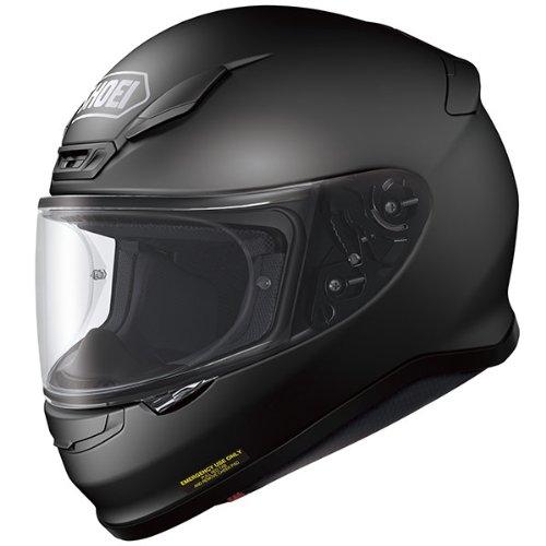 SHOEI NXR MATT BLACK FULL FACE MOTORCYCLE SPORTS HELMET + DARK RACE VISOR - Race Visors