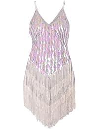 Wonen's Gowns Rhythm Ballroom Salsa Samba Rumba Tango Latin Dance Dress