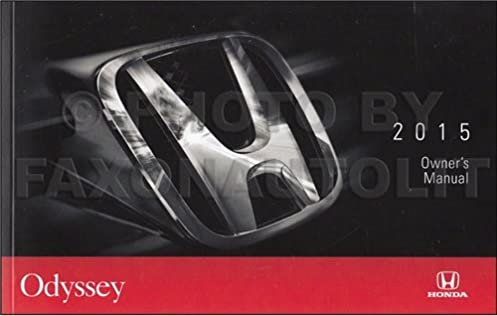 2015 honda odyssey owners manual guide book honda amazon com books rh amazon com honda odyssey owners manual 2010 honda odyssey service manual