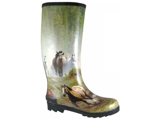 Smoky Mountain Metal Arts Boots Womens Running Horses Mul...