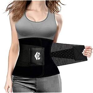 Waist Trainer Belt for Women Man – Waist Trimmer Weight Loss Ab Belt – Slimming Body Shaper