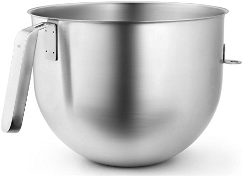 KitchenAid KSMC7QBOWL Stainless Steel 7 Qt. Bowl for Stand Mixers