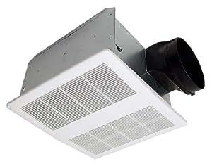 Kaze appliance se90t modern ultra quiet 90 cfm 0 3 sones - Ultra quiet bathroom exhaust fan with light ...