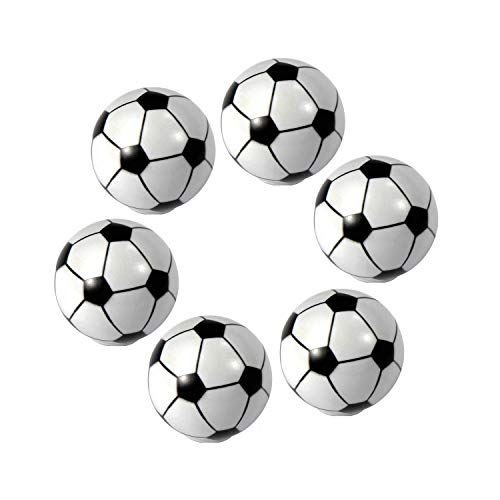 ZILucky Soccer Drawer knobs Ball Sports Party Theme Children and Baby Home Decor Drawer Pulls Handles for Dresser Cupboard Wardrobe Cabinet Kitchen Knobs Pack of 6 (Soccer)