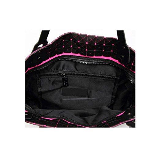 Silicone Sac à Coréenne Bag gray Sac à Pli Bandoulière 21X21 Dame Version Main Géométrie Ling Trendy Triangle 55qUrx