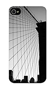 Top Quality Case Cover For Iphone 5/5s Case With Nice New York City Black And White Appearance
