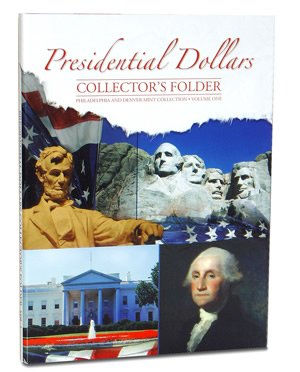 Presidential Dollars Collector's Folder P&D Vol 1 2279 Whitman New Folder