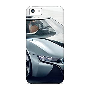 Hot Snap-on Bmw I8 Spyder Concept Car Hard Covers Cases/ Protective Cases For Iphone 5c