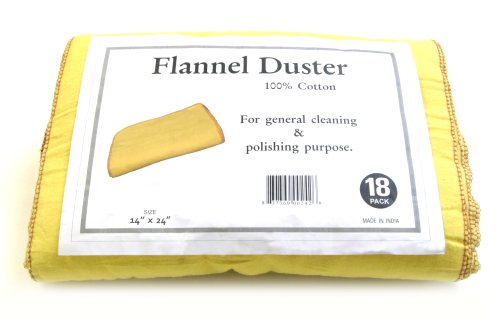 (Galaxy Flannel Dusters, 18-Pack FD18)