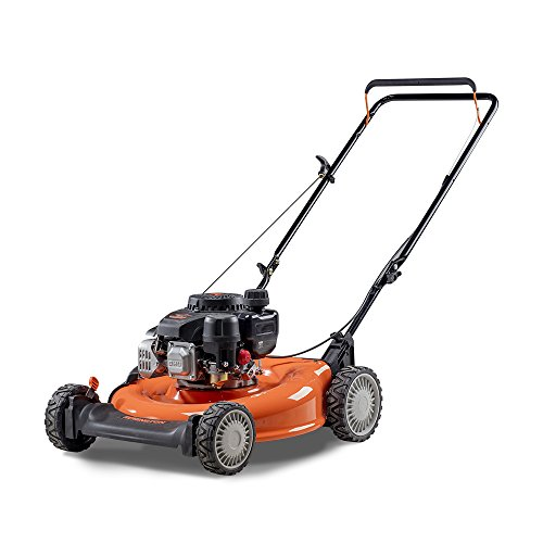Remington RM110 Trail Blazer 132cc 21-Inch 2-in-1 Gas Push Lawn (Mtd Steel Lawn Mower)