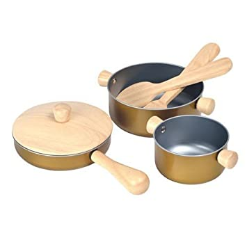 Amazon Com Plan Toys Cooking Utensils Toys Games