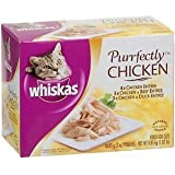 Whiskas Purrfectly Chicken Cat Variety Pack (1)