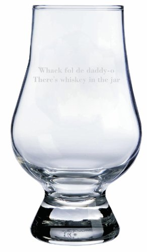 Whiskey In The Jar Quote Glencairn Whisky Glass