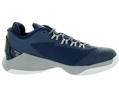 Jordan Cp3 VIII Gs (Chris Paul) Cool Grey / negro-blanco (5.5) Mid Navy/White/Gym Bl/Lgnd Bl