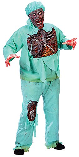 Zombie Doctor Plus Size Adult Costume - Plus Size ()