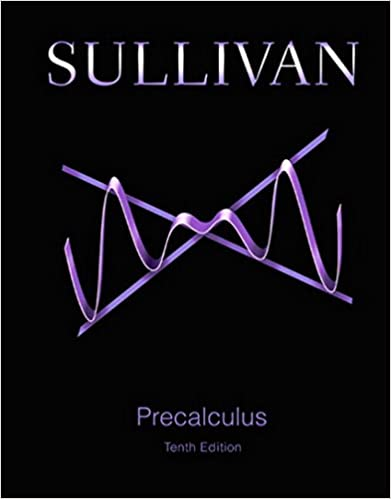 Precalculus 10 michael sullivan amazon fandeluxe Choice Image