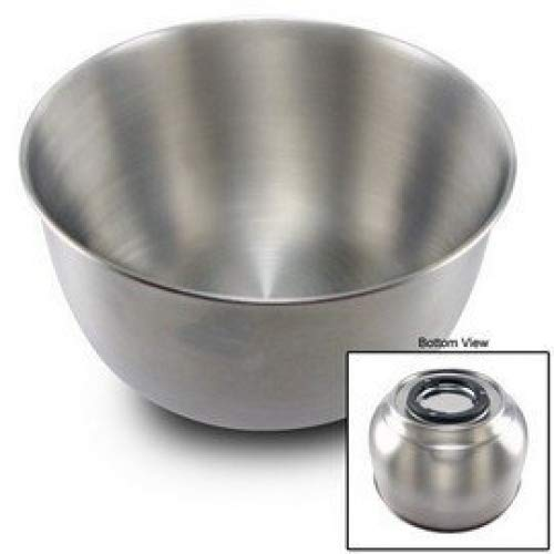 Large stainless steel bowl for Sunbeam Heritage mixers.