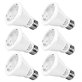 PAR20 LED Bulb 50W Equivalent, SHINE HAI LED Spot Light Bulb, 3000K Soft White, E26, 40 Degree Beam Angle, UL-Listed, 6-Pack