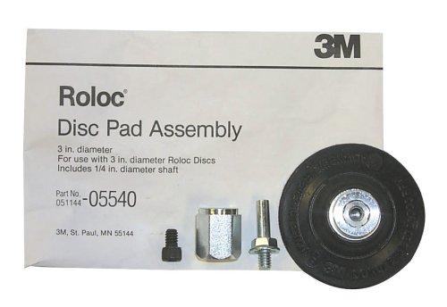 "3M 5540 3"" Roloc Disc Pad Assembly"